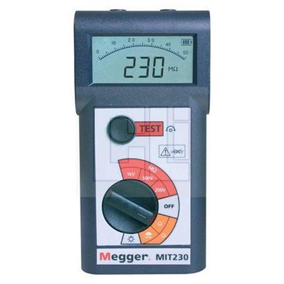 עדכון מעודכן בודקי בידוד MEGGER סדרה MIT200 UO-24